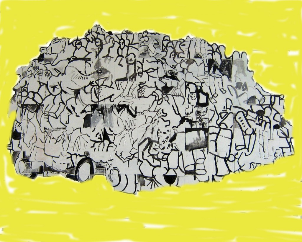 Yellow Big Thing by jane dearden